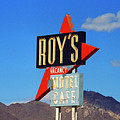 Route 66 - Roy's Of Amboy California by Frank Romeo