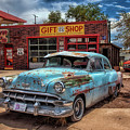 Route 66 Seligman by Diana Powell