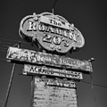 Route 66 - The Roaring 20's 001 Bw by Lance Vaughn