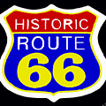 Route 66 Vintage Sign by Saundra Myles