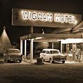 Route 66 - Wigwam Motel by Mike McGlothlen