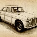 Rover P5 1968 by Michael Tompsett