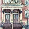 Row House Providence Rhode Island by Edward Fielding