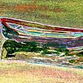 Rowboat Fluorescence 1 by Peter Paul Lividini