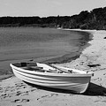 Rowboat On The Beach by HW Kateley
