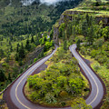 Rowena Crest Loops - Oregon by Gary Whitton