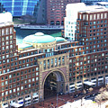 Rowes Wharf Building by Ruth H Curtis