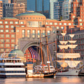 Rowes Wharf by Susan Cole Kelly
