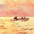 Rowing Home by Winslow Homer