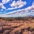 Rows Of Clouds Over Sonoran Desert by Eduardo Palazuelos Romo