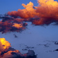 Roy-biv Clouds by Ginger Repke