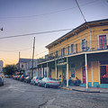 Royal And Touro Streets Sunset In The Marigny by Ray Devlin