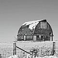 Royal Barn Winter Bnw by Bonfire Photography