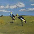 Royal Cranes by Claudia Luethi alias Abdelghafar