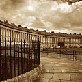 Royal Crescent Bath Somerset England Uk by Mal Bray