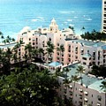 Royal Hawaiian Hotel  by Will Borden