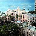 Royal Hawaiian Hotel  by Will Borden