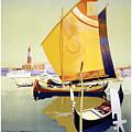 Royal Mail Atlantis Autumn Cruises Vintage Travel Poster by R Muirhead Art