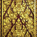 Royal Palace Gilded Door 02 by Rick Piper Photography