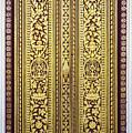 Royal Palace Gilded Doors by Rick Piper Photography