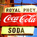 Royal Phcy Coke Sign by Nancy Forehand