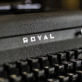 Royal Typewriter #19 by Chris Coffee