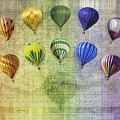Roygbiv Balloons by Melinda Ledsome