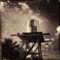 Rs Water Tower Sepia by Matt Suess