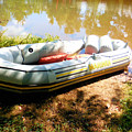 Rubber Boat 1 by Jeelan Clark
