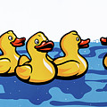 Rubber Ducks by James Lee