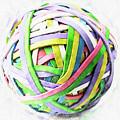 Rubberband Ball II by Pekka Liukkonen