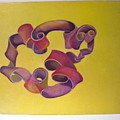Rubberband Number One by Martha Zausmer paul