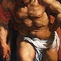 Rubens Descent From The Cross Detail Outside Left Peter Paul Rubens by Eloisa Mannion