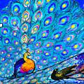 Blue Peacock                                 by Tony Rubino