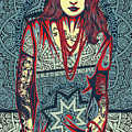 Rubino Red Lady by Tony Rubino