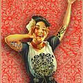 Rubino Rise Woman by Tony Rubino