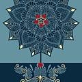 Rubino Zen Flower by Tony Rubino