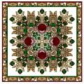 Ruby And Emerald Kaleidoscope by Charmaine Zoe