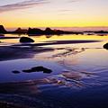 Ruby Beach Yellow Blue by Tim Rayburn