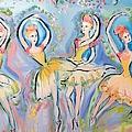 Ruby Quartette by Judith Desrosiers