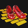 Ruby Slippers From Wizard Of Oz by Irina Sztukowski