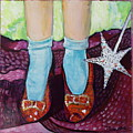 Ruby Slippers by Tanya Johnston