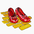 Ruby Slippers The Wizard Of Oz  by Irina Sztukowski