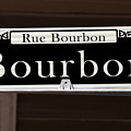 Rue Bourbon Street - New Orleans by Anthony Totah