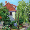 Rue Claude Monet by L Diane Johnson