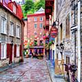 Rue Du Cul De Sac by Dave Thompsen