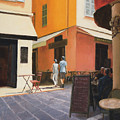 Rue En Nice by Tate Hamilton
