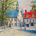 Rue Ste Anne 1965 by Richard T Pranke