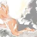 Ruffled Bed by Shelley Jones