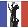 Rugby France by Aloysius Patrimonio